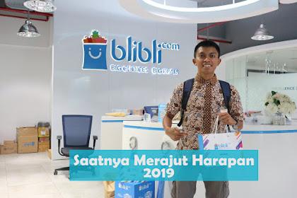 Saatnya Merajut Harapan 2019 Bersama Blibli.com