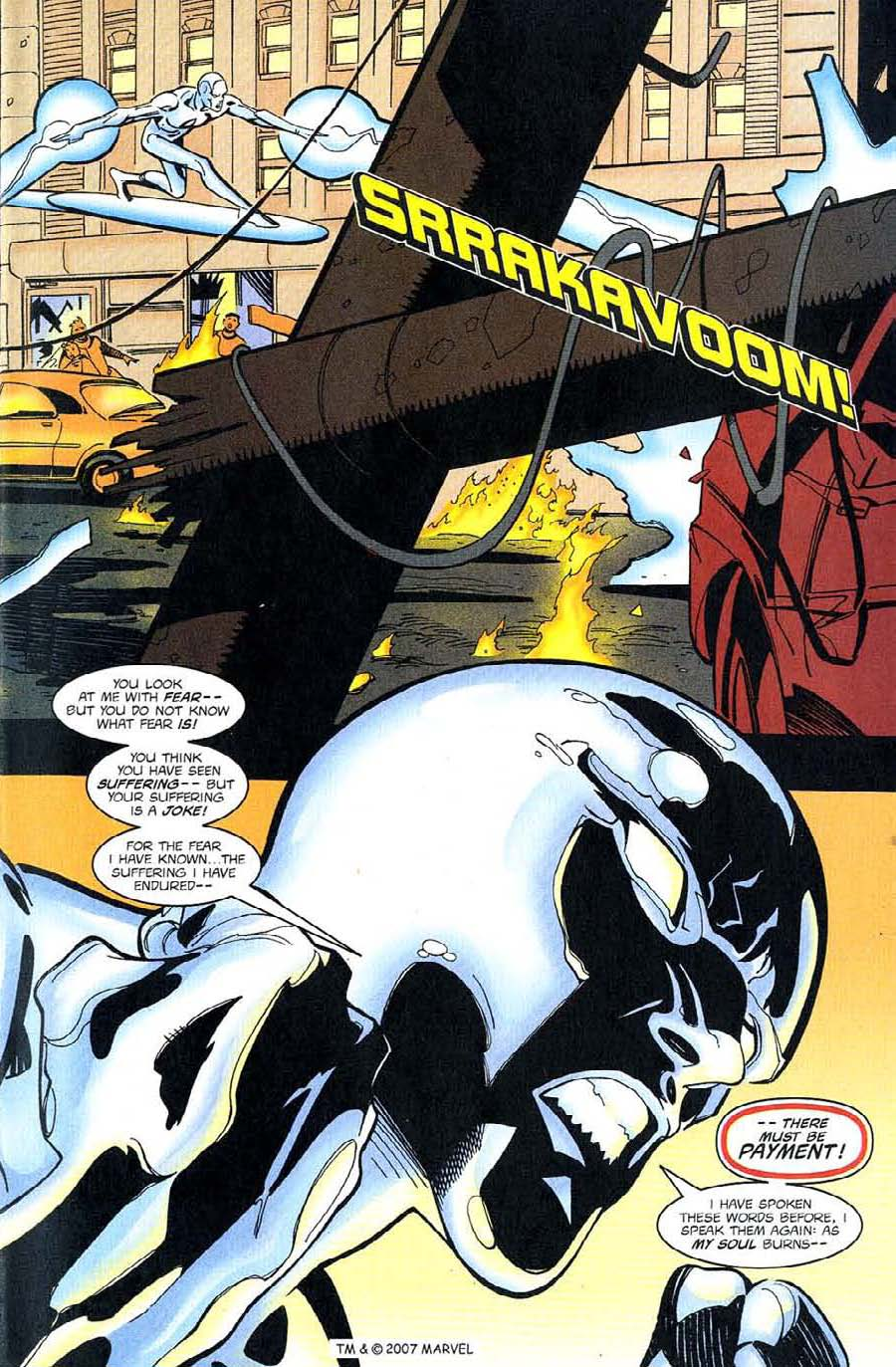 Read online Silver Surfer (1987) comic -  Issue #128 - 11