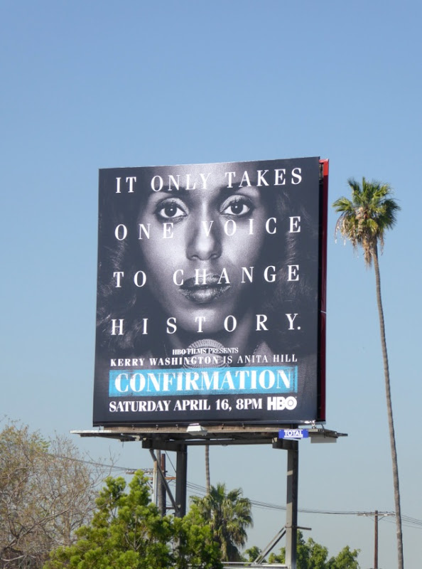 Confirmation HBO Films billboard