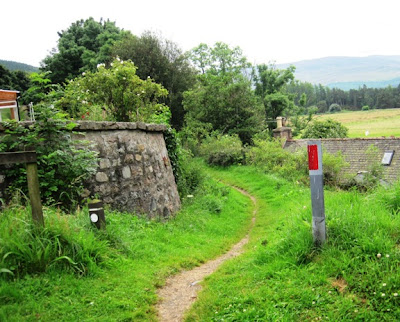 The old railway line going back to Ballater, walks on Deeside