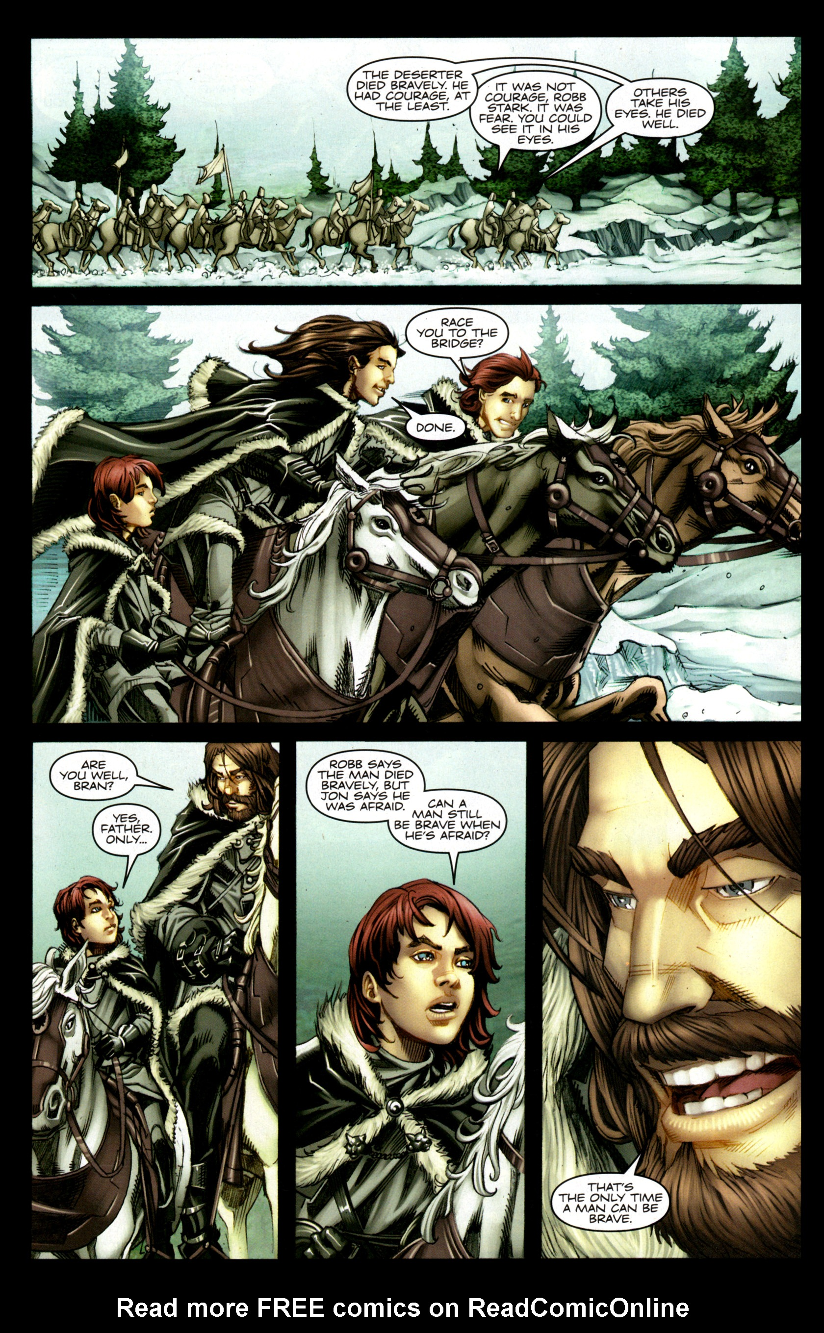 Read online A Game Of Thrones comic -  Issue #1 - 12