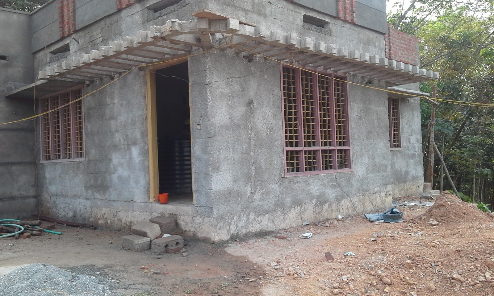 Kerala House Construction Tips 11 Parapet And Plastering