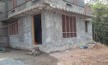 Plastering Walls in a House