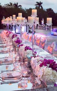 centro tavola per matrimonio fai da te con orchidee