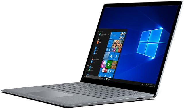 Windows Surface Laptop running Windows 10 S