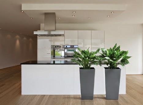 Maceteros y jardineras para plantas artificiales for Plantas artificiales para exterior