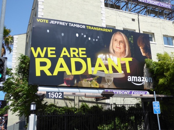 Jeffrey Tambor Transparent Radiant Emmy billboard