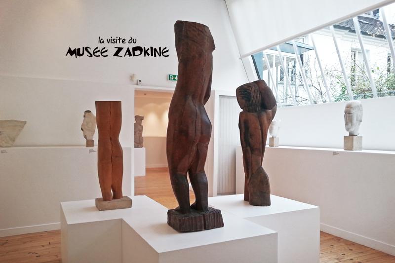 vue d'ensemble du musée Zadkine à Paris