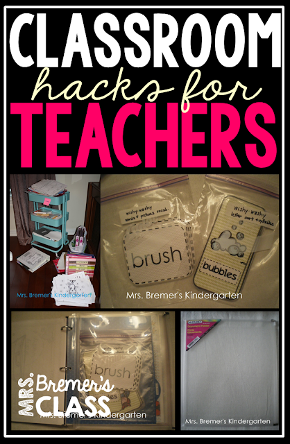 Classroom hacks for teachers: how to organize your binders