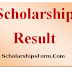 NMMS Scholarship Result 2018 -19 NMMS Exam Merit List Download