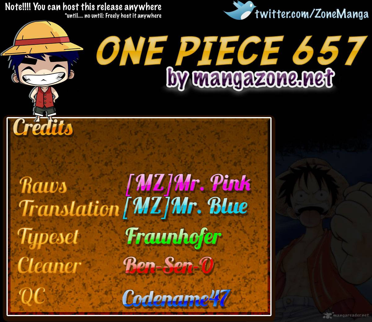 One Piece 657: Disembodied Head