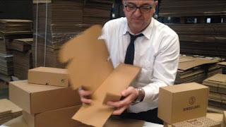 cajas automontables,cajas para envios