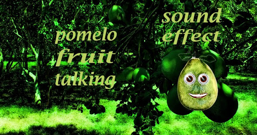 Pomelo Fruit Talking - Sound Effect - Animation