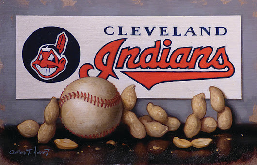 Cleveland Indians Baseball Painting and Prints!