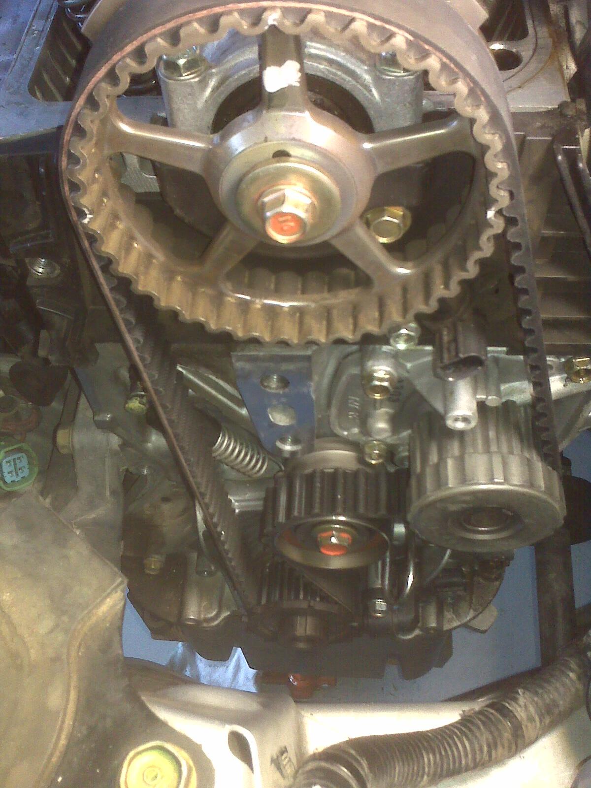 Omid U0026 39 S Diy Web Log  2002 Honda Civic Hx Timing Belt Change