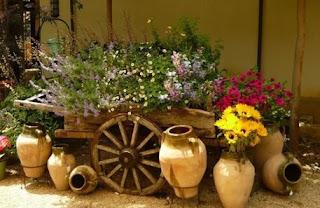 decoraciones bonitas para el jardin, ideas para poner bonito el jardin