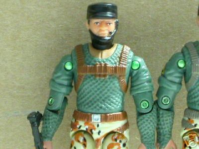 2004 unproduced Desert Patrol Squad, Caucasian Stalker, Snake Eyes, Gung Ho, Dusty, Ambush, Tunnel Rat, Toys R Us Exclusive, Race Changing, Midnight Chinese