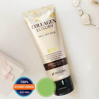 Mặt nạ vàng collagen luxury gold review