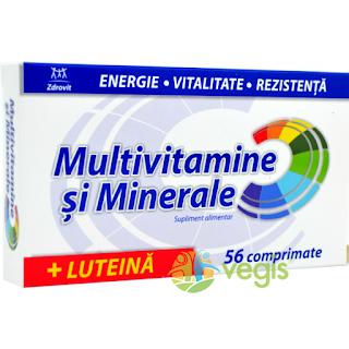Cumpara produsul Multivitamine Minerale Luteina aici