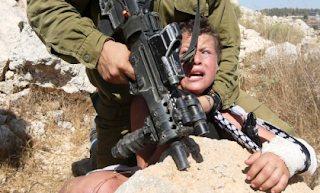 Israeli Soldier and Boy