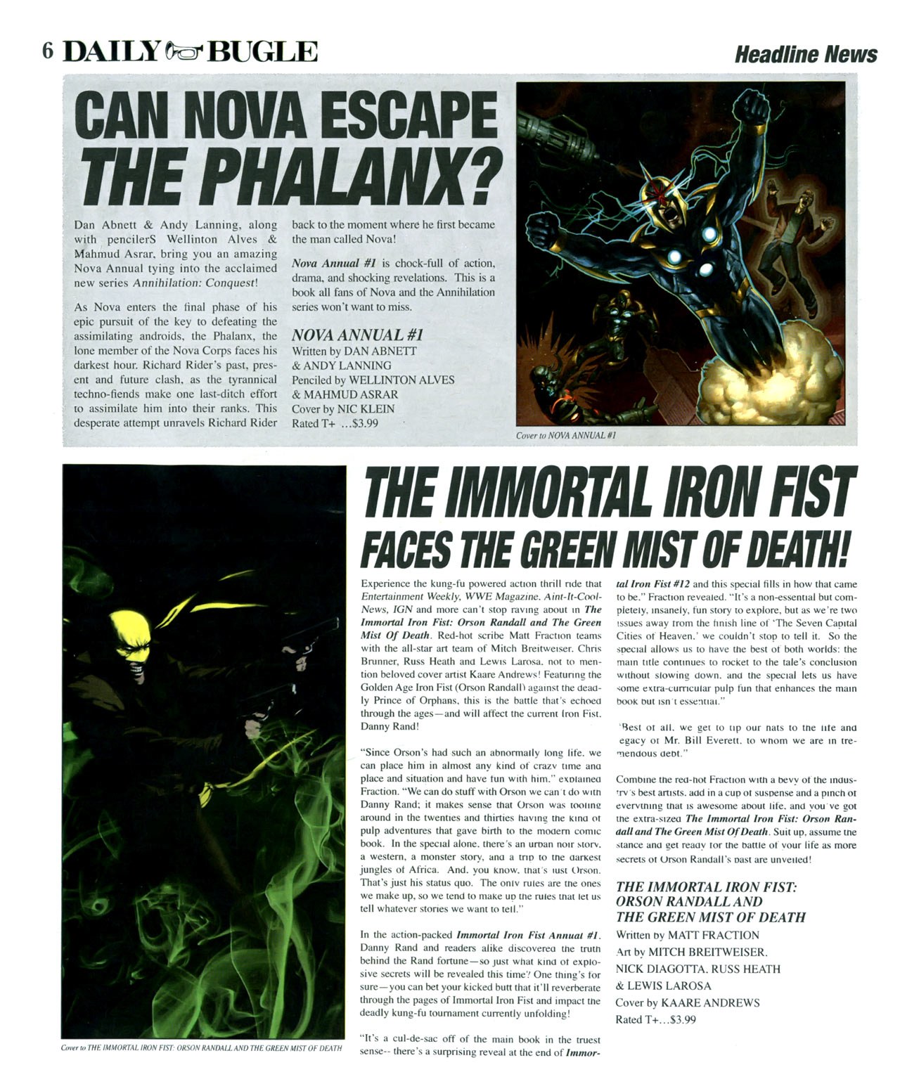 Read online Daily Bugle (2006) comic -  Issue #17 - 7