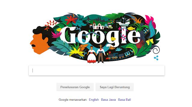 Tampilan Google Doodle Hari Ini Sangat Menawan