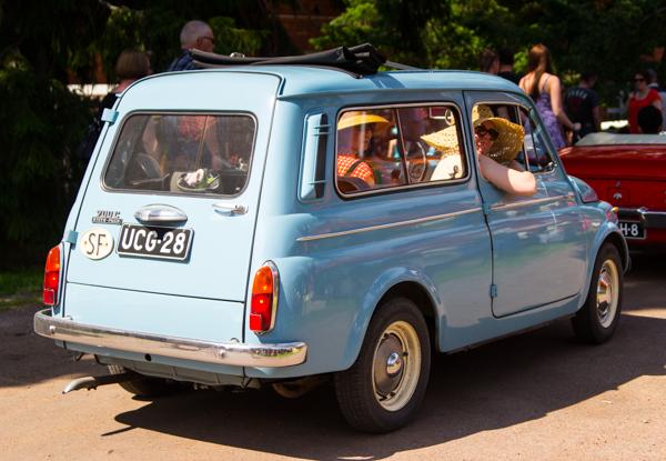 PauMau blogi nelkytplusbloggari nelkytplus nelkytplusblogit ruukki picnic 2015 ruotsinpyhtää strömforsin vaaleansininen 60-luvun auto