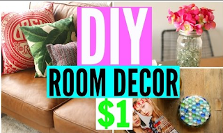 DIY Room Decor From The Dollar Store CHEAP Decorations