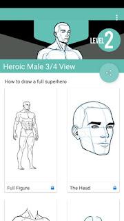 Learn How to Draw adalah aplikasi tutorial gambar yang lebih baru