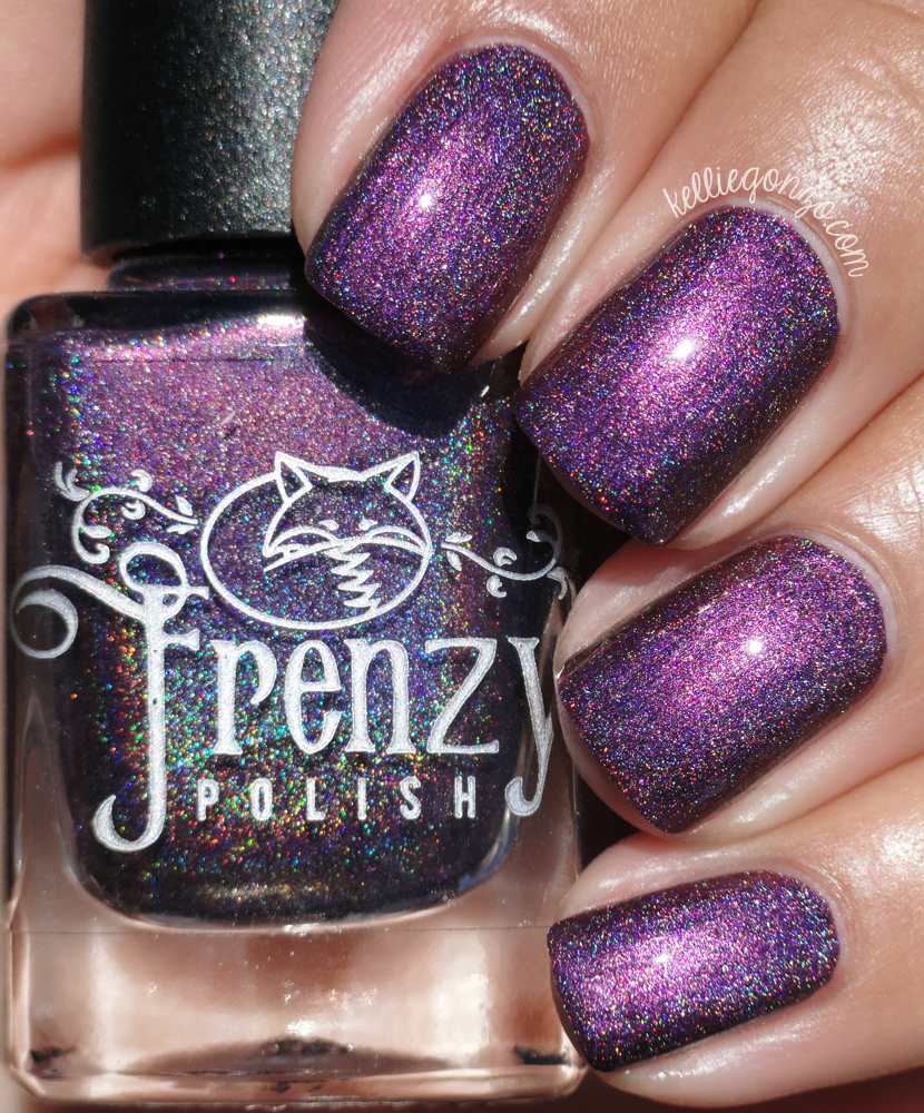 Frenzy Polish Purple-Backed Sunbeam