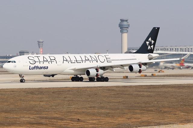 lufthansa star alliance a330-300