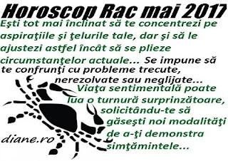 Horoscop mai 2017 Rac