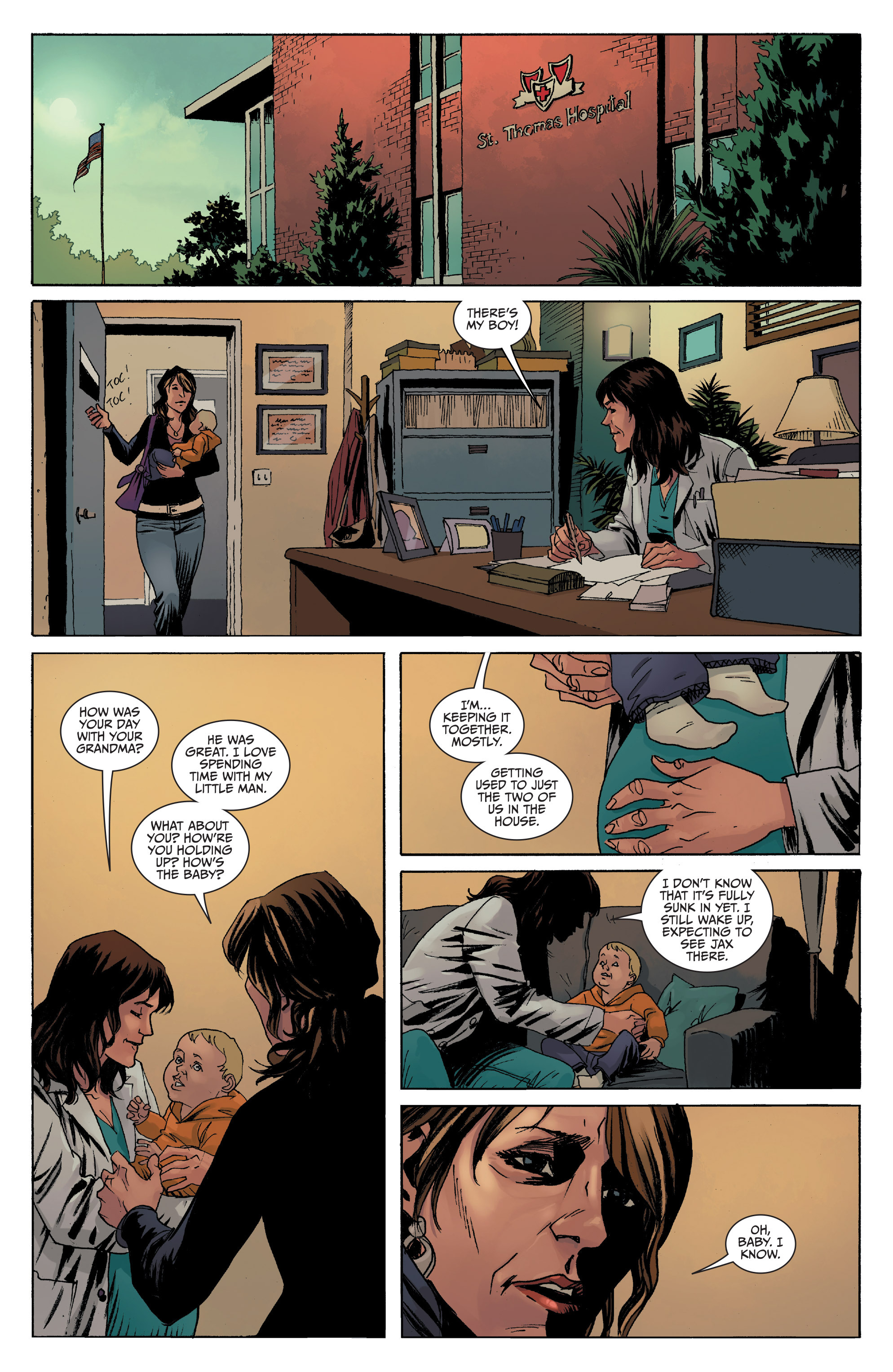 Read online Sons of Anarchy comic -  Issue #8 - 7