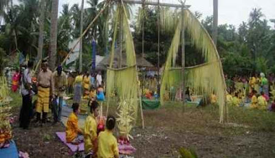 tradisi kabuenga, wakatobi