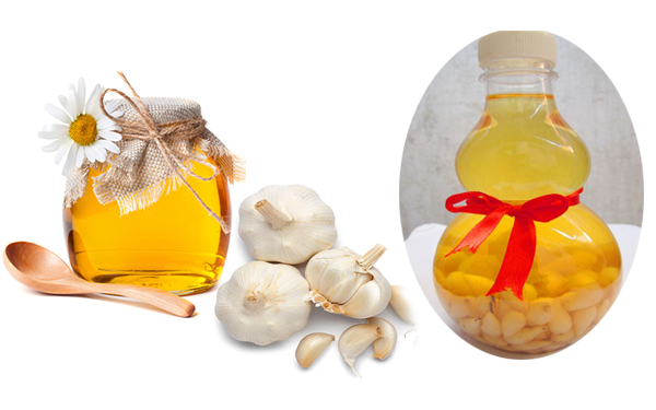 Tỏi ngâm mật ong chữa viêm họng
