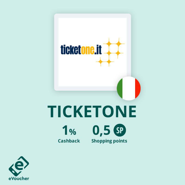 eVoucher - Cashback World - TicketOne.it