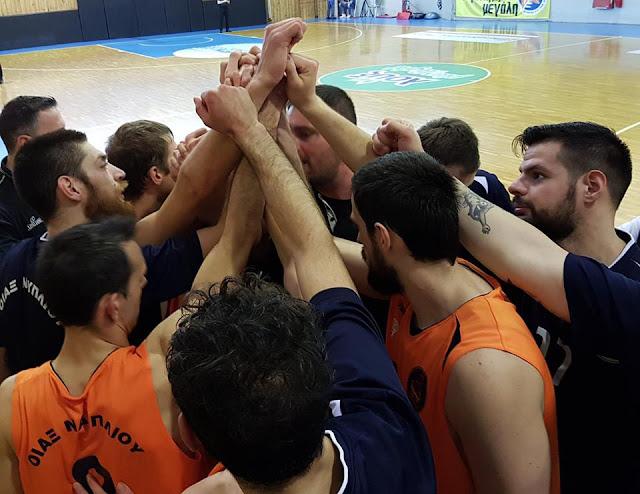 Ασταμάτητος ο Οίακας Ναυπλίου στην μάχη της ανόδου στο πρωτάθλημα της Γ' Εθνικής