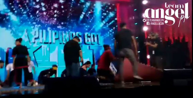 Angel Locsin Helps PGT Staff And Crew In Setting Up The Stage, Showing How She Cares For The People Around Her