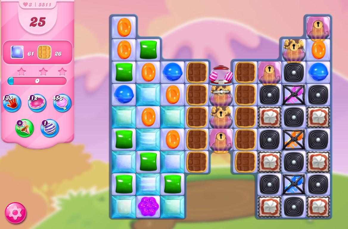 Candy Crush Saga level 5511