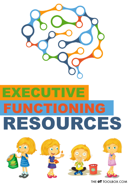 Executive Functioning Resources on Therapy Thursday