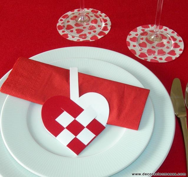 decoracion de mesas ideas para san valentin