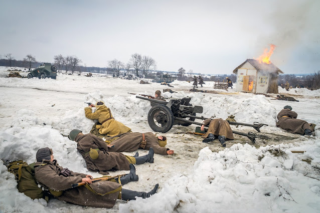 Реконструкция боя при Соколово 9.03.2018 - 36