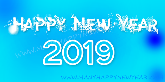 New year 2019 Facebook poster
