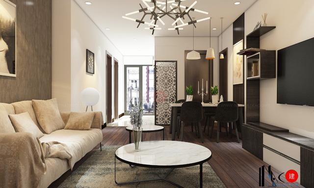 Thiết kế căn hộ chung cư Osaka Complex Hoàng Mai