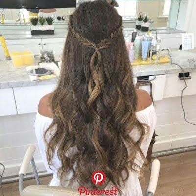 yet they must certainly be special to match your outfit and accessories ✘ 16+ Cute Hairstyles for Homecoming That'll Attract Eyes