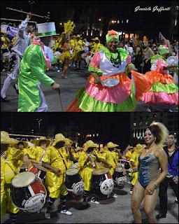 Desfile Inaugural del Carnaval. Uruguay.2017 Yambo Kenia