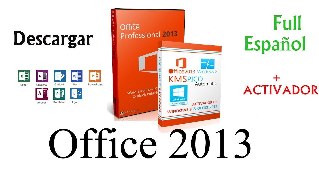 descargar office 2013 full español 64 bits mega