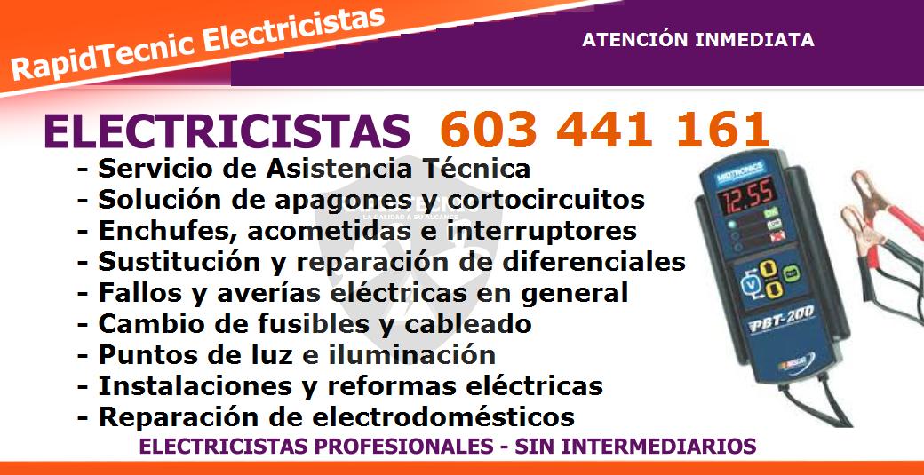Reparamos electricistas fontana salamanca 603 441 161 - Interruptores y enchufes baratos ...