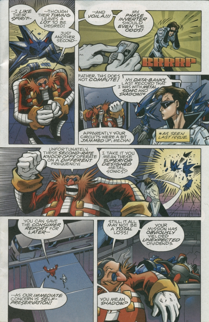 Read online Sonic The Hedgehog comic -  Issue #158 - 5