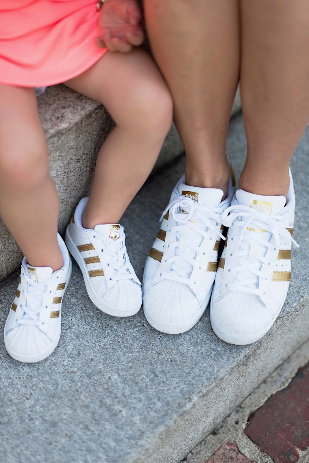 Mommy & Me Adidas Superstar Sneakers - Something Delightful Blog